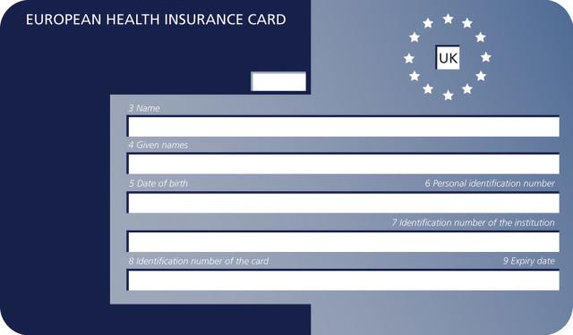 Европейска Здравна Карта